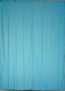 Turquoise Cotton Backdrop