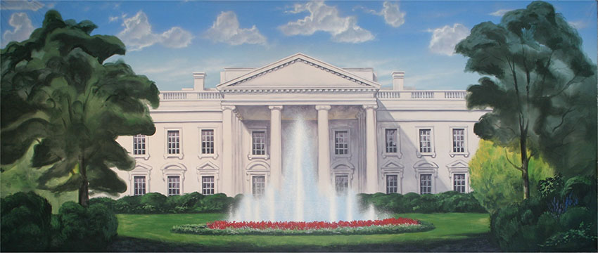 White House Backdrop