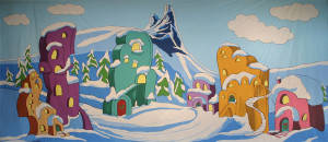 Whoville Backdrop