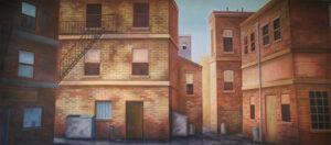 Alley Backdrop