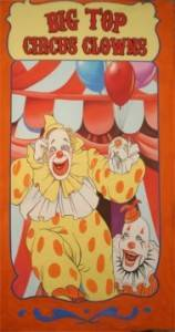 Circus Clown Banner Backdrop