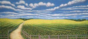 Cornfield Backdrop