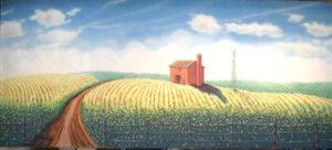 Farm Landscape Backdrop
