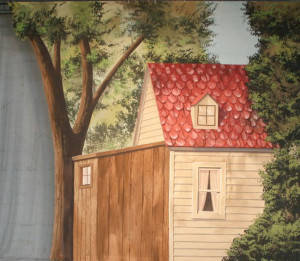 Farmhouse Tab Backdrop