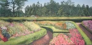 Flower Garden Backdrop