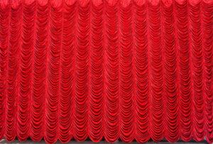 Red Velvet Austrian Puff  DL RVA01 Backdrop