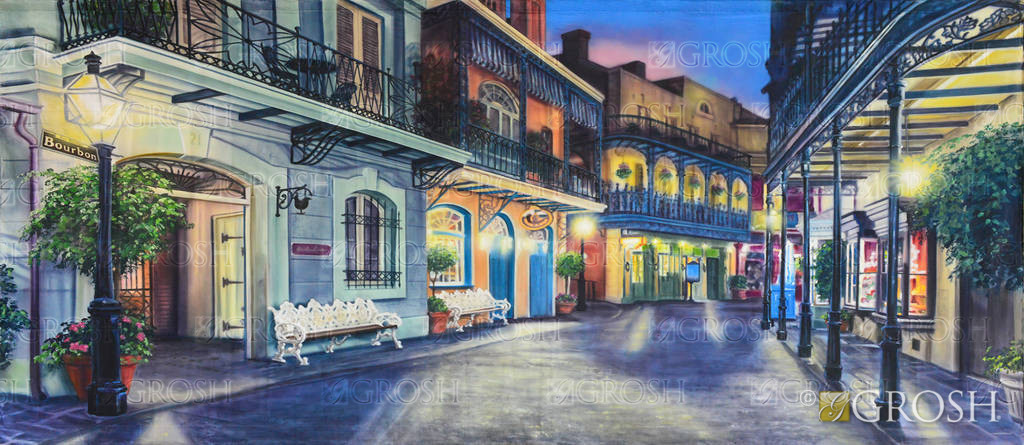New Orleans Square Backdrop