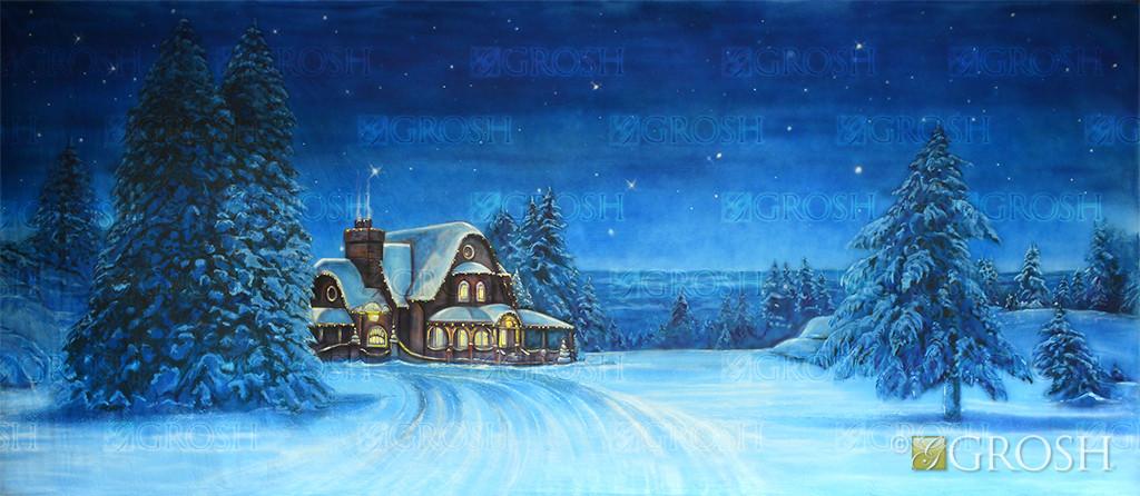North Pole backdrop