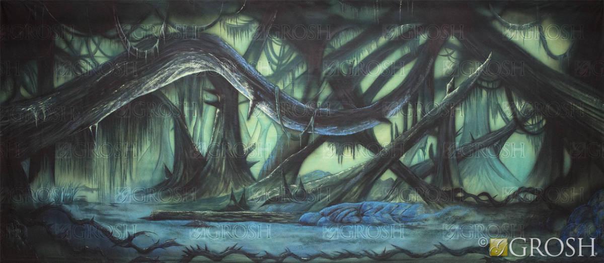 Dark Forest backdrop