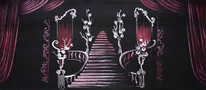 Sound of Music Grand Staircase backdrop