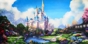 Beautiful fairytale castle used in productions of Cinderella, sleeping beauty , and Disney castle events.
