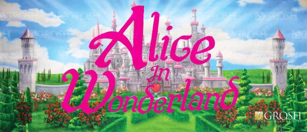 Alice in Wonderland Backdrop Image