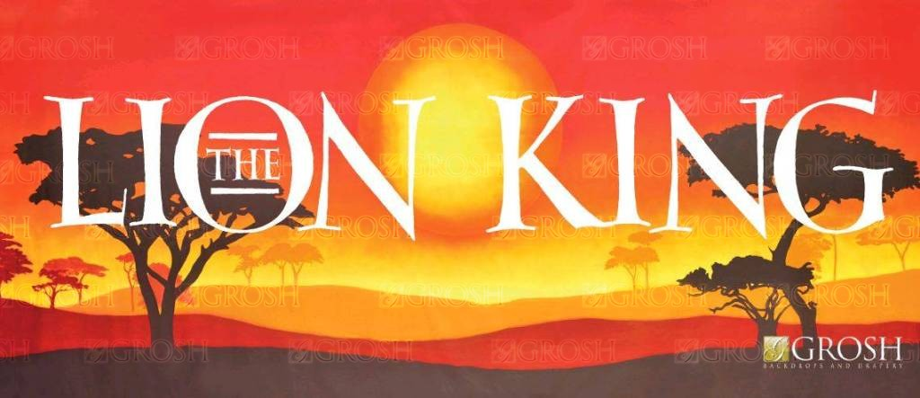 The Lion King Backdrop Image