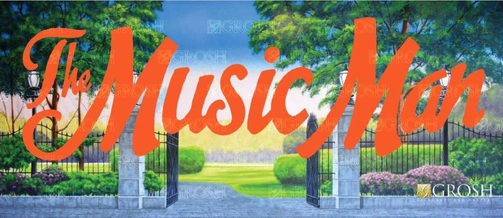 Music Man Backdrop Image