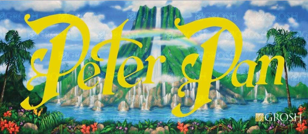 Peter Pan Backdrop Image