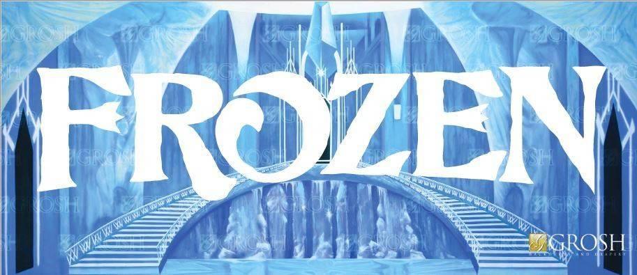 Frozen Backdrop Image